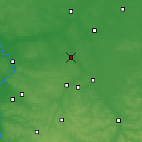 Nearby Forecast Locations - Lubartów - Map