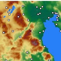 Nearby Forecast Locations - Elatochori - Map