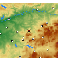 Nearby Forecast Locations - Baena - Map