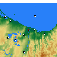 Nearby Forecast Locations - Edgecumbe - Map