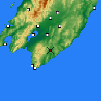 Nearby Forecast Locations - Waipawa - Map