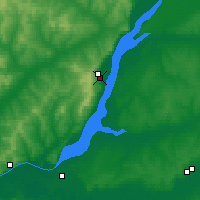 Nearby Forecast Locations - Khvalynsk - Map