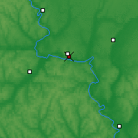 Nearby Forecast Locations - Liski - Map