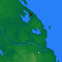 Nearby Forecast Locations - Priozersk - Map