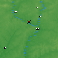 Nearby Forecast Locations - Seltso - Map