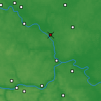 Nearby Forecast Locations - Voskresensk - Map