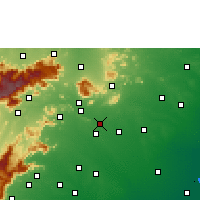 Nearby Forecast Locations - Madurai - Map