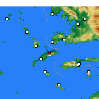 Nearby Forecast Locations - Dikaios - Map