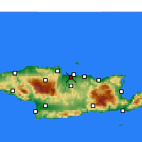 Nearby Forecast Locations - Nea Alikarnassos - Map