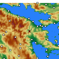 Nearby Forecast Locations - Nemea - Map