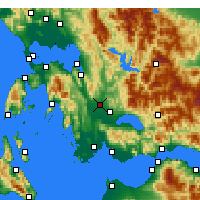 Nearby Forecast Locations - Stratos - Map
