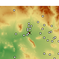 Nearby Forecast Locations - Avondale - Map
