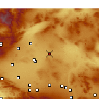 Nearby Forecast Locations - Boron - Map