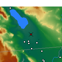 Nearby Forecast Locations - Brawley - Map