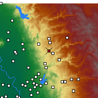 Nearby Forecast Locations - Grass Valley - Map