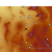 Nearby Forecast Locations - Green Valley - Map