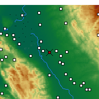 Nearby Forecast Locations - Ripon - Map