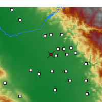 Nearby Forecast Locations - Selma - Map